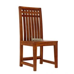 Adolph Dining Chair (Honey Finish)