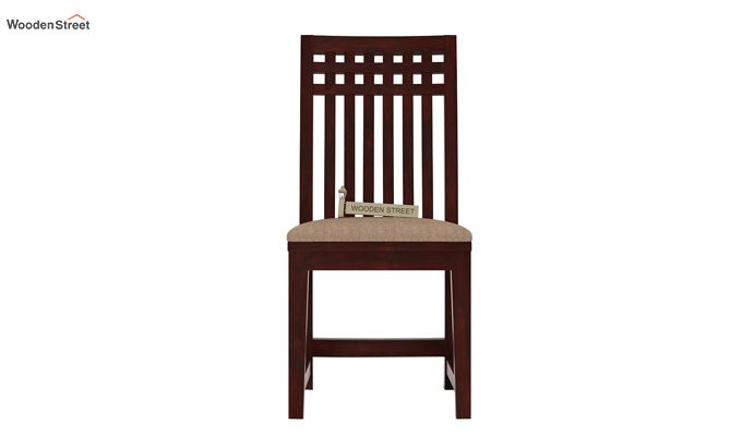 Adolph Dining Chair With Fabric (Mahogany Finish)-2