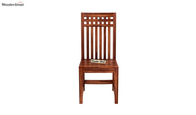 Adolph Dining Chair without Fabric (Honey Finish)-3