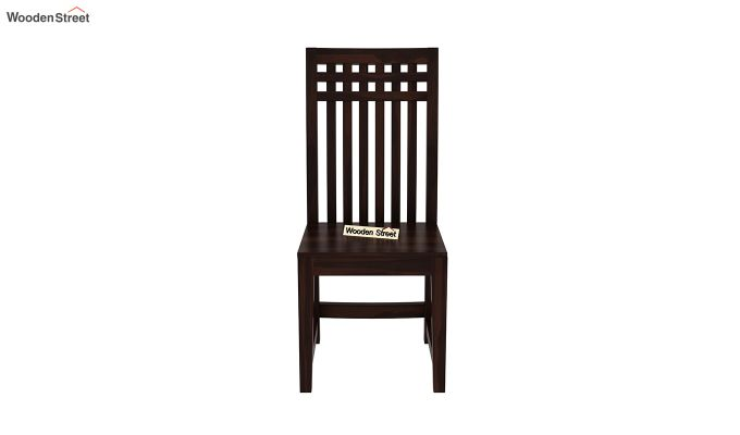 Adolph Dining Chair without Fabric (Walnut Finish)-3