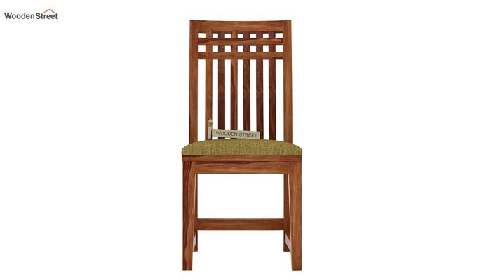 Adolph Dining Chair With Fabric (Teak Finish)-2