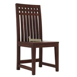 Adolph Dining Chair (Walnut Finish)