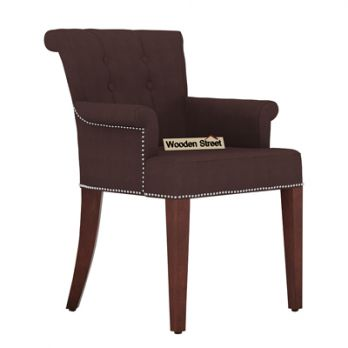 wooden chairs with arms online
