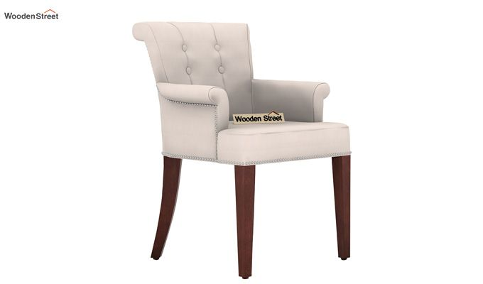 Altra Dining Chair (Fabric, Ivory Nude)-1