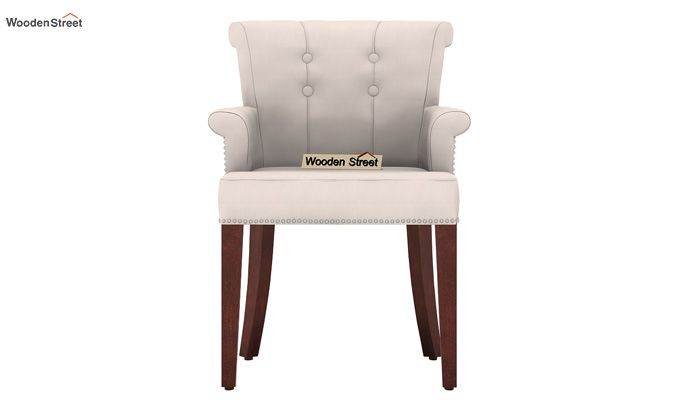 Altra Dining Chair (Fabric, Ivory Nude)-2