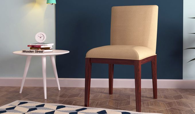 Benedict Dining Chair (Irish Cream)-1