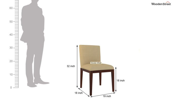 Benedict Dining Chair (Irish Cream)-4