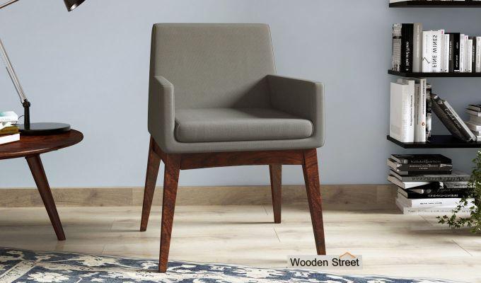 Bennet Arm Chair (Warm Grey)-1