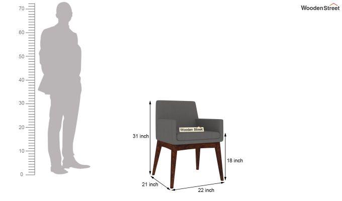 Bennet Arm Chair (Warm Grey)-4