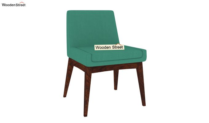 Bennet Dining Chair (Electric Turquoise)-2