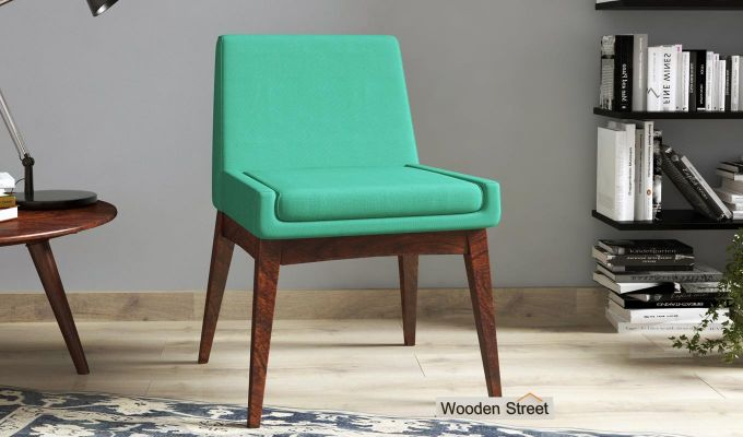 Bennet Dining Chair (Electric Turquoise)-1