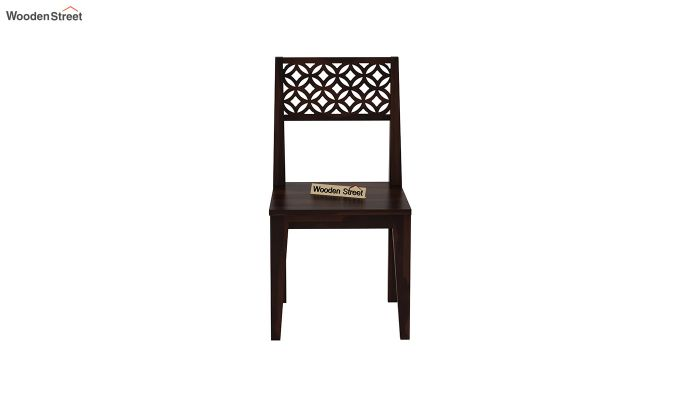 Cambrey Dining Chair Without Fabric (Walnut Finish)-3