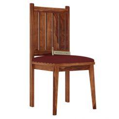 Dawson Dining Chair With Fabric (Teak Finish)