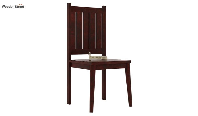 Dawson Dining Chair without Fabric (Mahogany Finish)-1