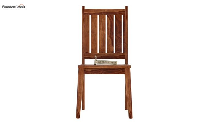 Dawson Dining Chair without Fabric (Teak Finish)-2