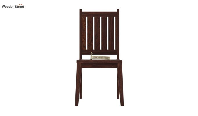 Dawson Dining Chair without Fabric (Walnut Finish)-3