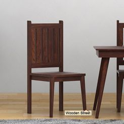Dawson Dining Chair (Walnut Finish)