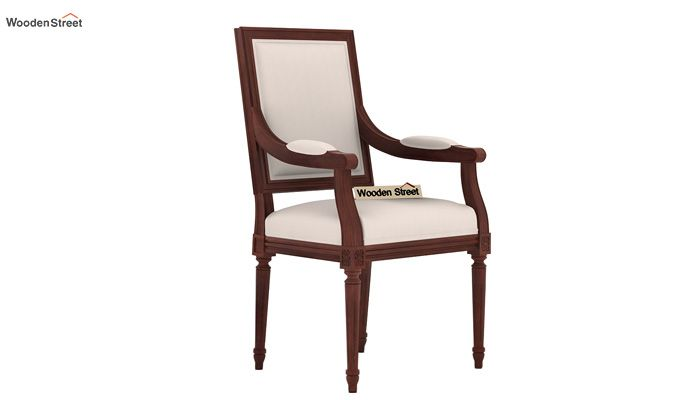 Genoa Dining Chair (Ivory Nude)-1