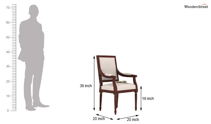 Genoa Dining Chair (Ivory Nude)-3