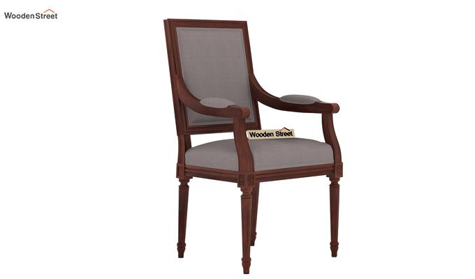 Genoa Dining Chair (Warm Grey)-1
