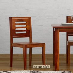 Helina Dining Chair (Honey Finish)