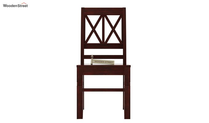 Jessie Dining Chair without Fabric (Mahogany Finish)-2