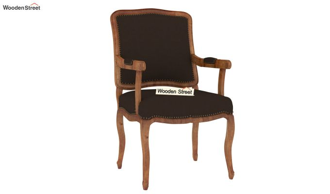 Kelvin Arm Chair (Fabric, Classic Brown)-2
