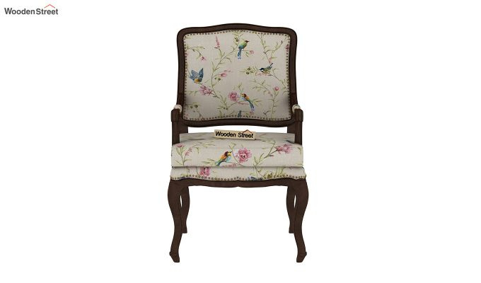 Kelvin Arm Chair (Linen, Cream Robins)-3