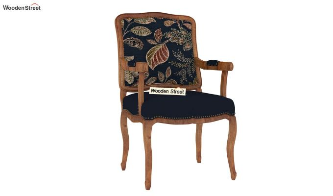 Kelvin Arm Chair (Fabric, Dusky Leaf)-2