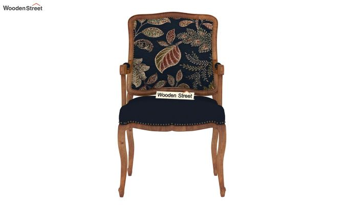 Kelvin Arm Chair (Fabric, Dusky Leaf)-3