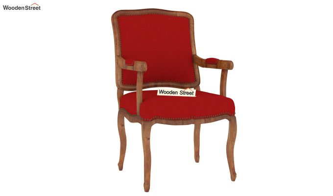 Kelvin Arm Chair (Fabric, Dusky Rose)-2