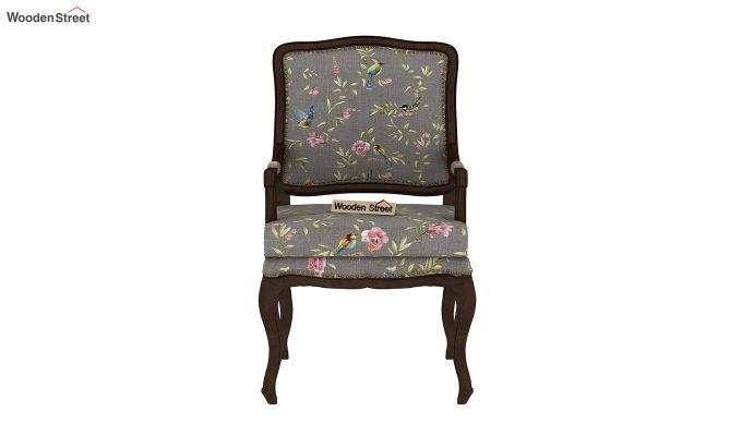 Kelvin Arm Chair (Linen, Grey Robins)-3