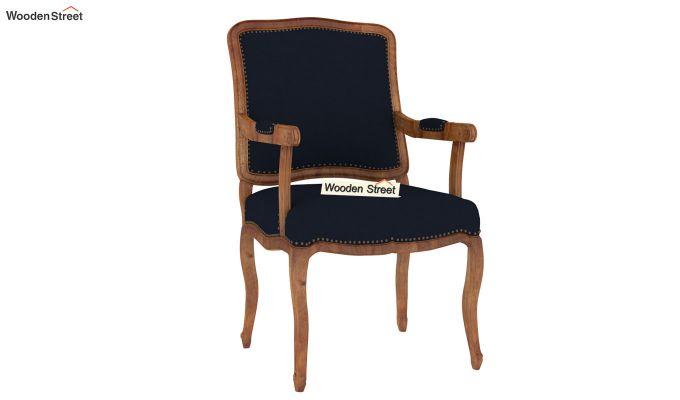 Kelvin Arm Chair (Fabric, Indigo Ink)-2