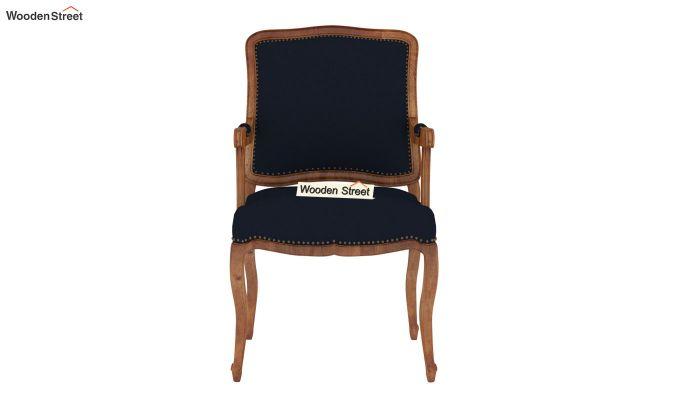 Kelvin Arm Chair (Fabric, Indigo Ink)-3