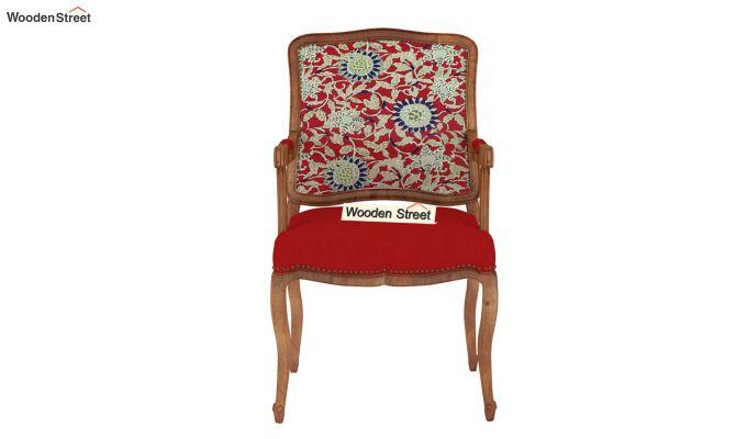 Kelvin Arm Chair Printed Fabric (Scarlet Blue)-3