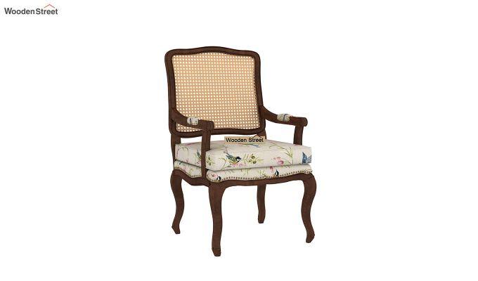 Kelvin Arm Chair with Cane (Linen, Cream Robins)-2