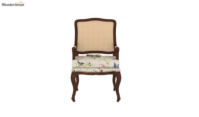 Kelvin Arm Chair with Cane (Linen, Cream Robins)-3