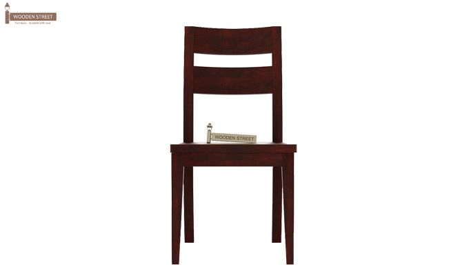 Kiplin Dining Chair without Fabric (Mahogany Finish)-2