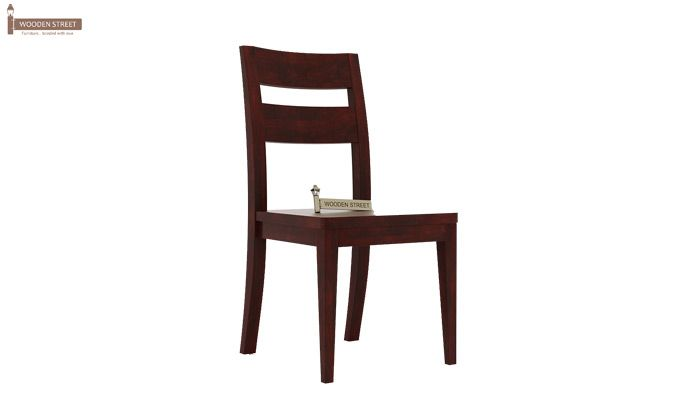Kiplin Dining Chair without Fabric (Mahogany Finish)-1