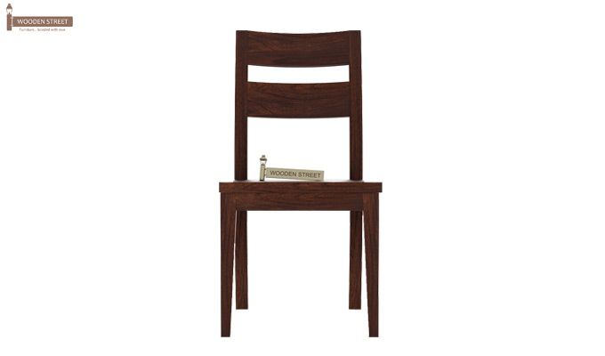 Kiplin Dining Chair without Fabric (Walnut Finish)-2