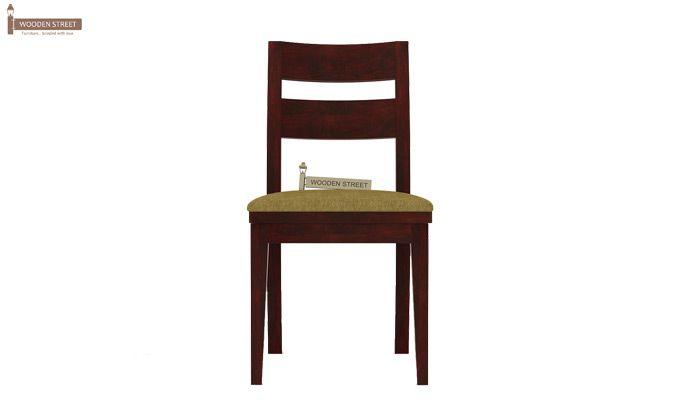 Kiplin Dining Chair With Fabric (Mahogany Finish)-2