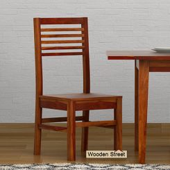 Lavina Dining Chair (Honey Finish)
