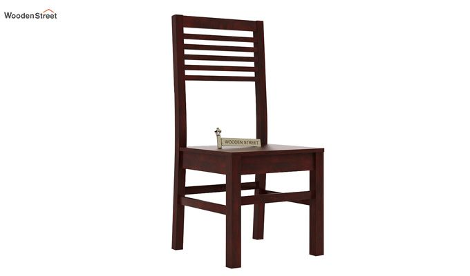 Lavina Dining Chair without Fabric (Mahogany Finish)-1