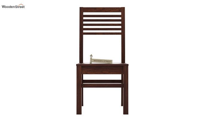 Lavina Dining Chair without Fabric (Walnut Finish)-2