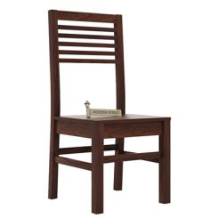 Lavina Dining Chair (Walnut Finish)