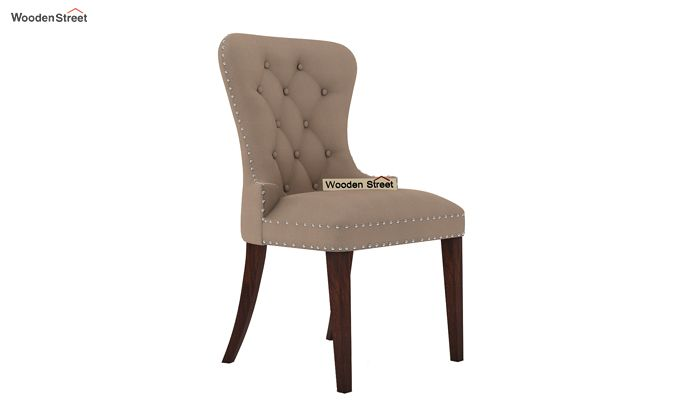 Lenox Restaurant Chair (Walnut Finish, Irish Cream)-2