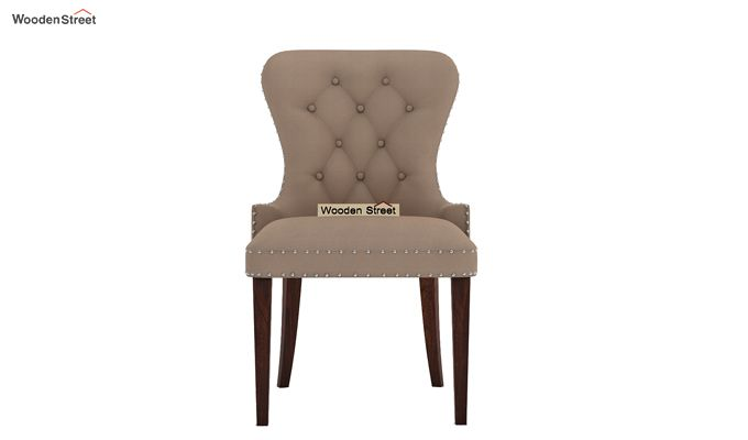Lenox Restaurant Chair (Walnut Finish, Irish Cream)-3