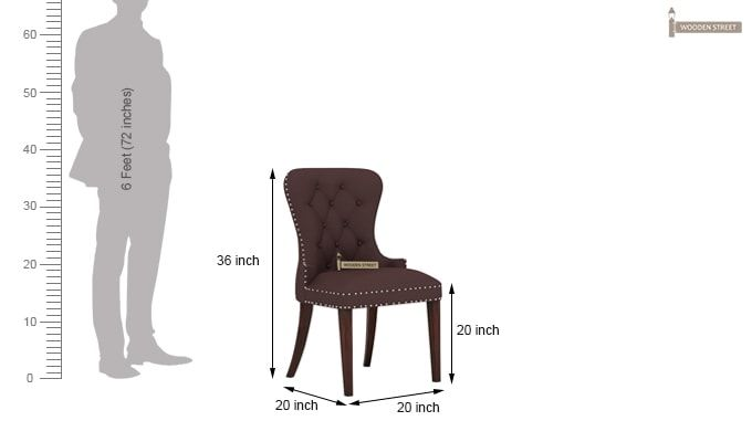 Lenox Dining Chair (Classic Brown)-4