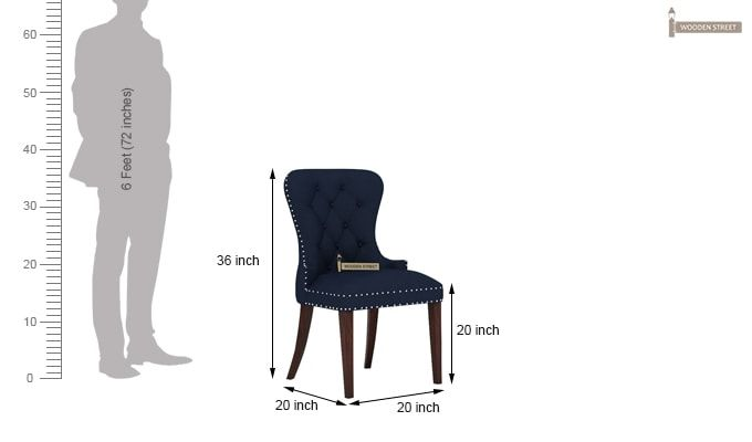 Lenox Dining Chair (Indigo Ink)-4