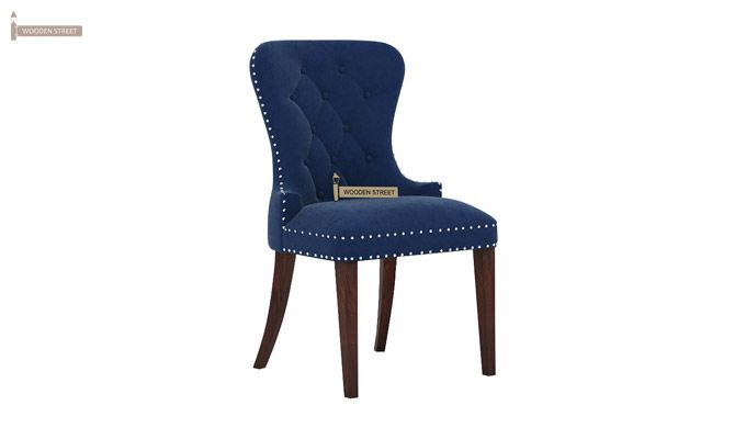 Lenox Dining Chair (Velvet, Night)-1